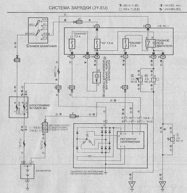 Электрическая схема подключения эур автомобиля ниссан микра