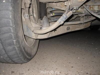 Мерседес вито ремонт задней подвески