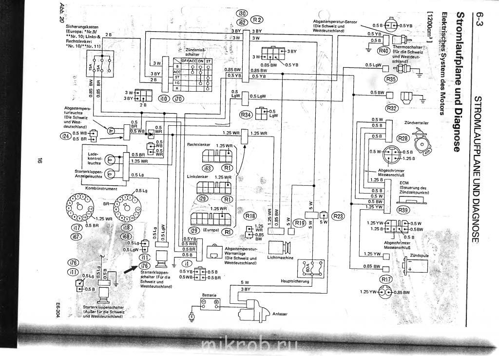 Система зажигания sambar iv клуб любителей микроавтобусов и