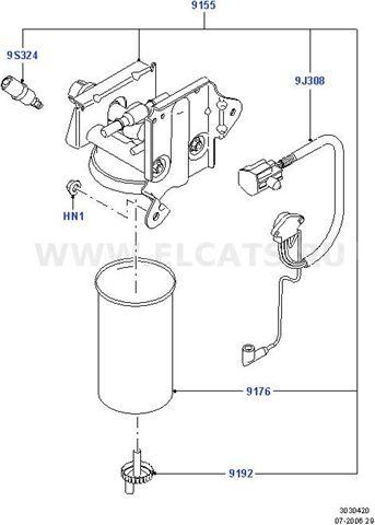 На транзите 2006 отсуствует датчик воды в топливном фильтре.Подскажите,если приобрести данную запчасть будет ли...