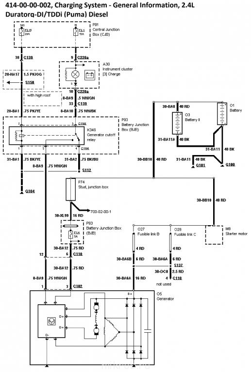 414-00-00-002, Charging System