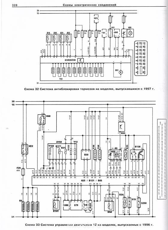 Электрические схемы sharan электрика