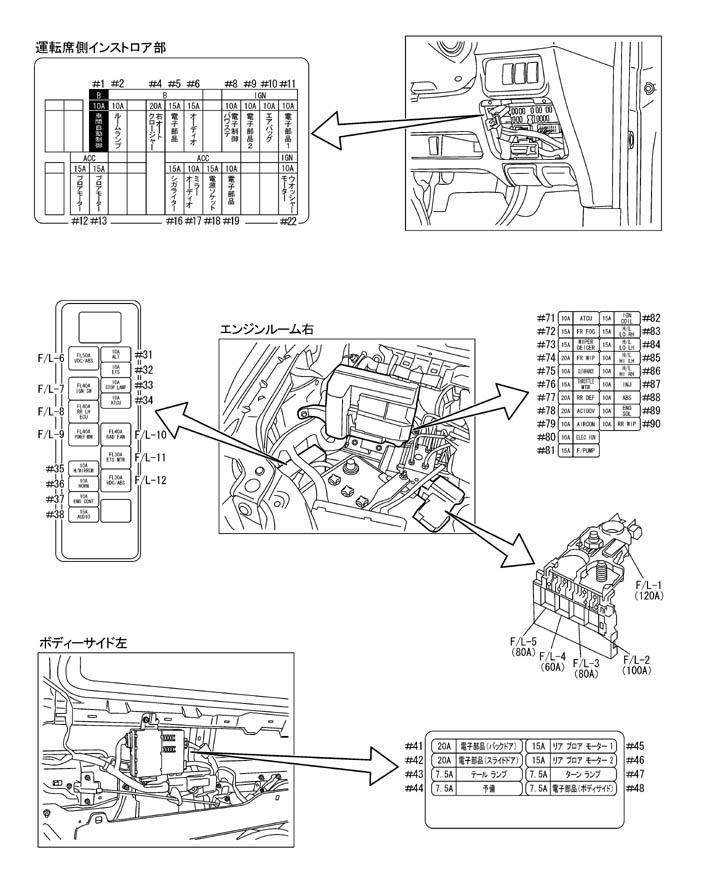 и Nissan Elgrand NE51 02'