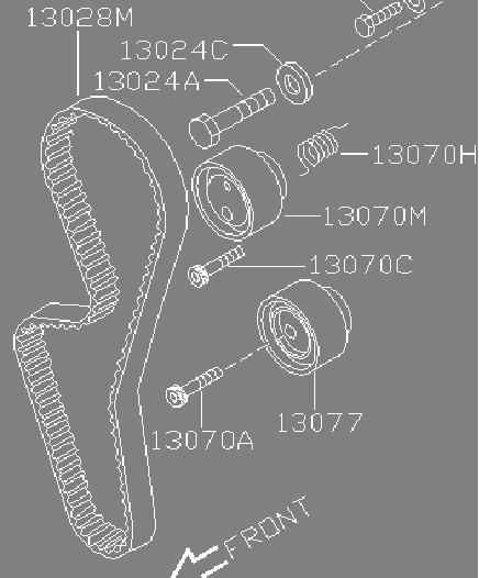 Замена ремня грм на автомобилях лада с двигателем 8 клапанов