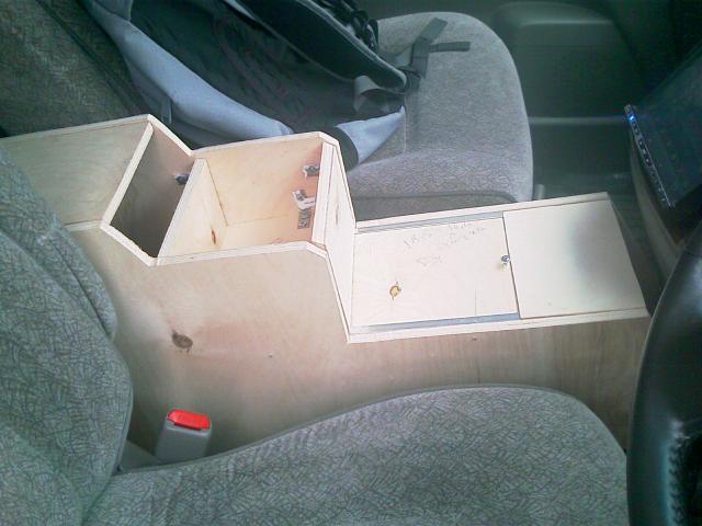 Подлокотник для ваз 2107