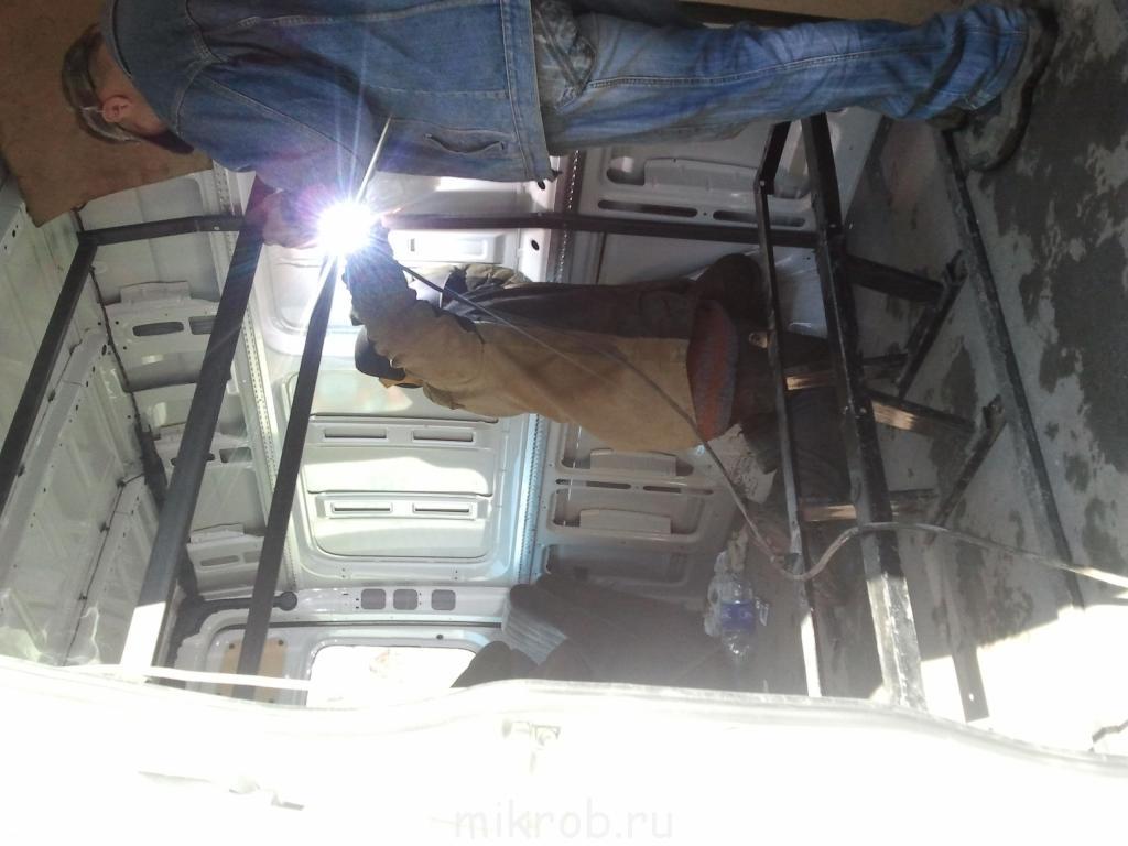 Как переделать микроавтобус своими рук фото 155