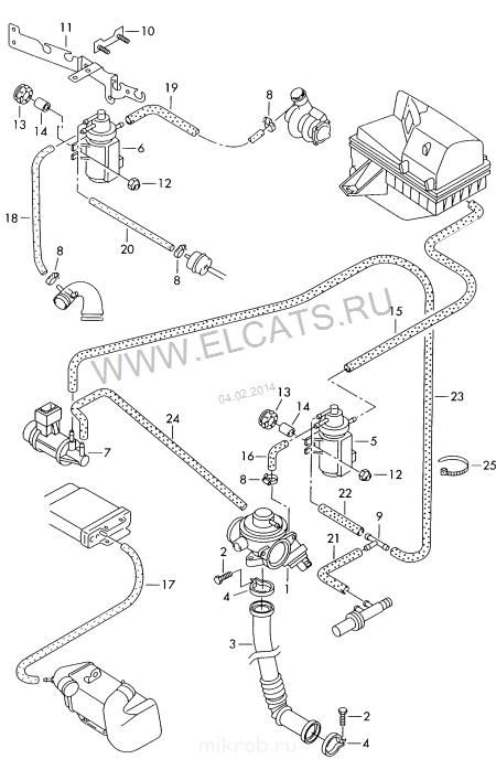 Схема турбина транспортер плохо включаются передачи фольксваген транспортер т5