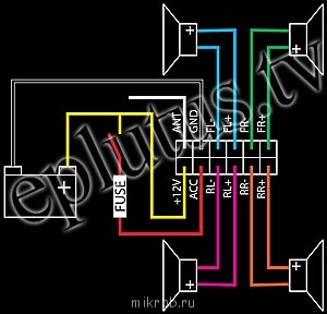 цвет провода массы toyota