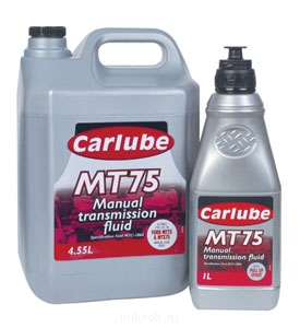 Specifications:Ford ESC-M2C-186A - Carlube MT75 Manual Transmission Fluid.jpg