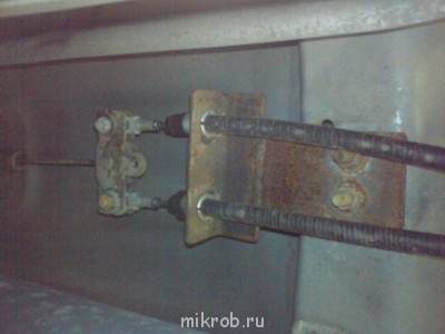 Замена тросиков ручного тормоза - DSC00745.JPG
