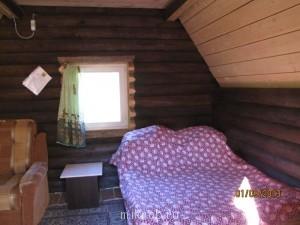 обстановка - двухспальная кровать и кресло раскладное - IMG_7618.JPG