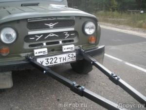 Жесткая сцепка для УАЗа - 1449788.jpg