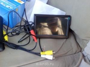Дисплей двух канальный можно еще одну камеру подключить . - IMG_20140406_184245.jpg