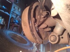 Замена тросиков ручного тормоза - IMG_20140725_131050.jpg