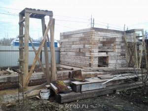 Строительство бани с летней кухней - Фото0048.jpg