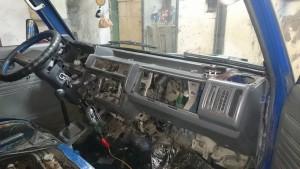 Демонтаж торпеды Removing the dash board  - DSC_0128.JPG