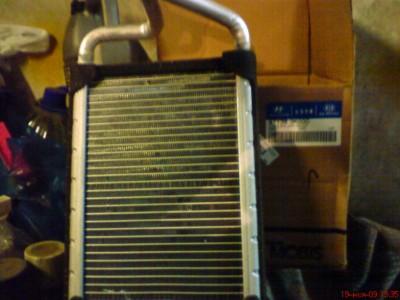 Радиатор отопителя Hyundai Sonata NF, OEM номер 97138 3K000. КРАСАВЕЦ.