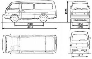 Взаимозаменяемость кузовных частей новой и старой бонги - bongo-e2000-dimensions.jpg